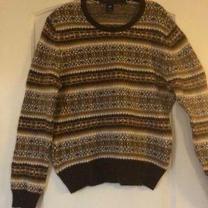 Gap fair isle sweater